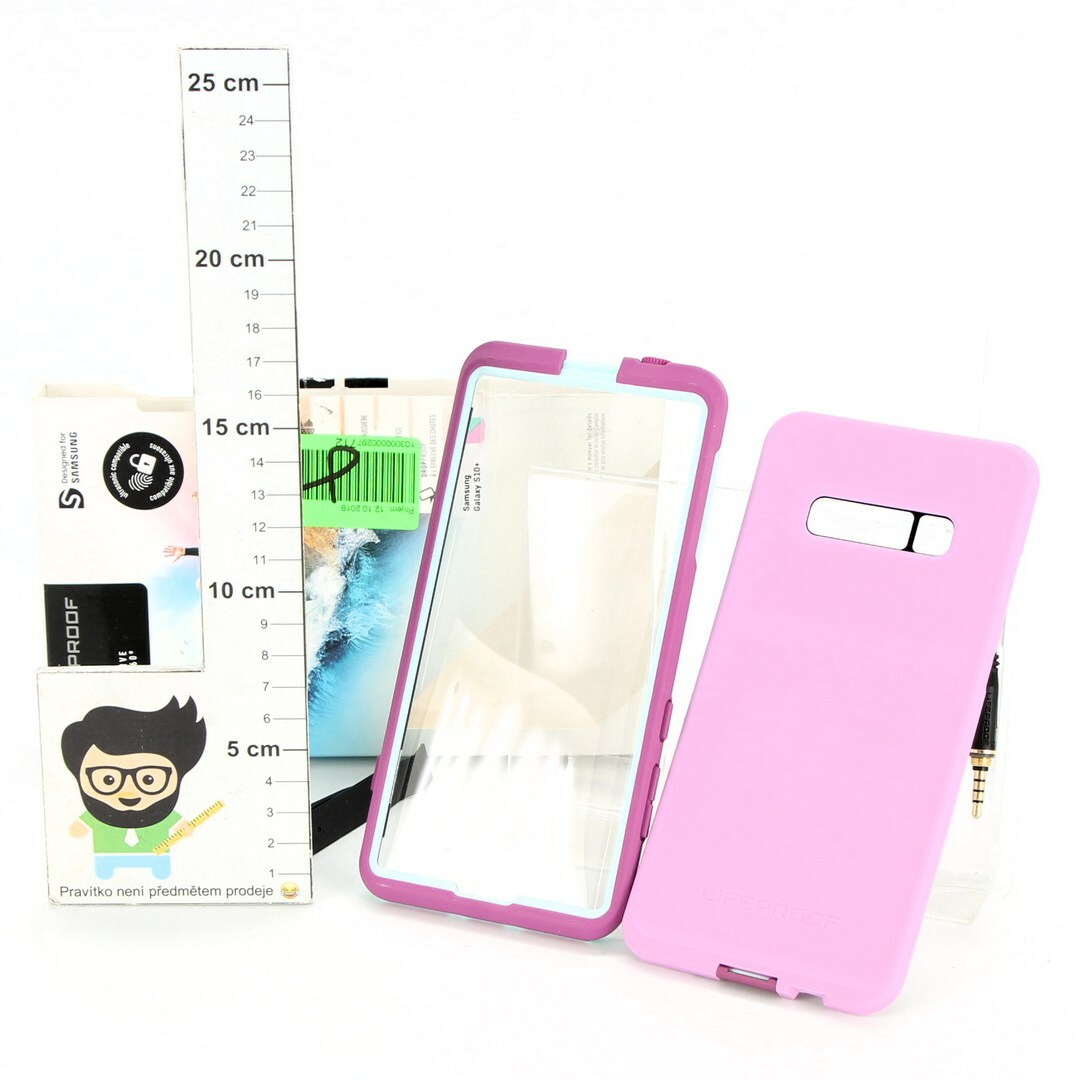 Pouzdro LifeProof Fré pro Samsung růžové