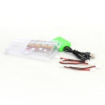 Nabíječka a baterie Makerfire 35C 3,7 V