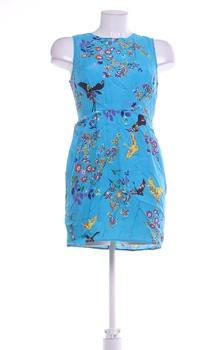 Dámské letní šaty Atmosphere modré se vzorem