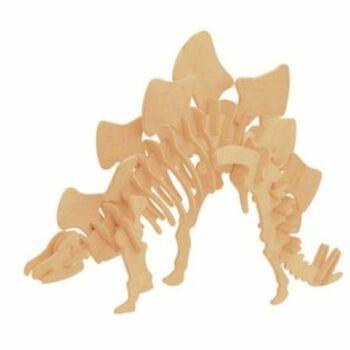 Dřevěné puzzle Lamps 3D Stegosaurus DI-056
