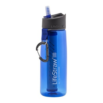 Láhev na pití LifeStraw 650 ml - modrá