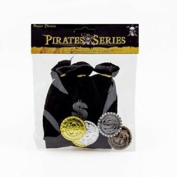 Teddies Pirátský měšec s dukáty