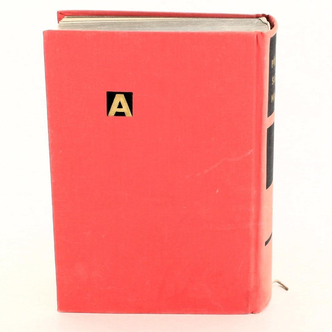 Kniha Příruční slovník naučný III. díl