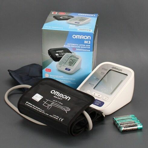 Měřič krevního tlaku Omron M3