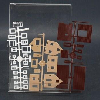 Modely 3 jednoduchých domečků Faller 23221