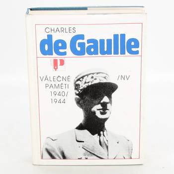 Kniha Válečné paměti 1940/1944
