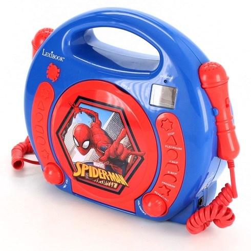 CD přehrávač s mikrofony Lexibook