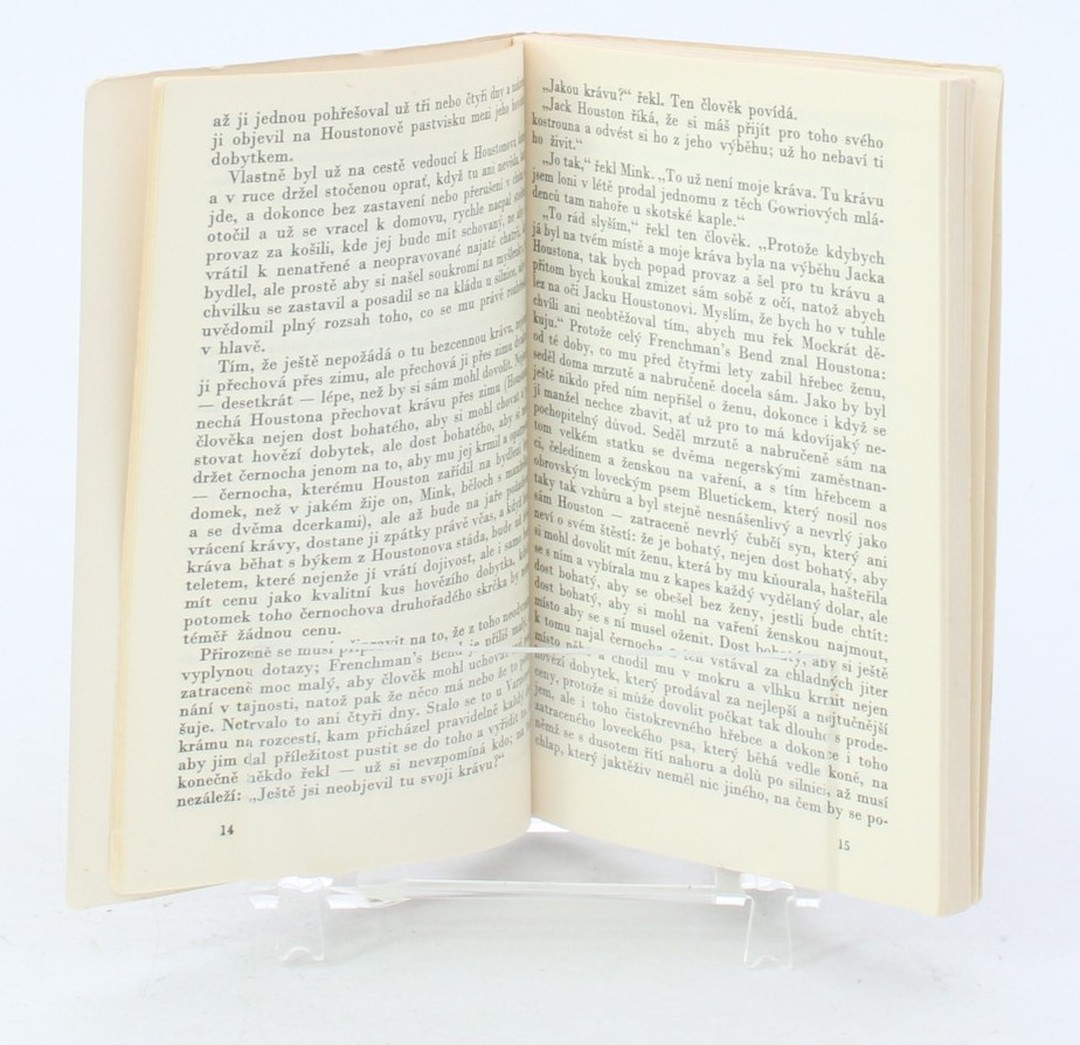 Novela William Faulkner: Mink