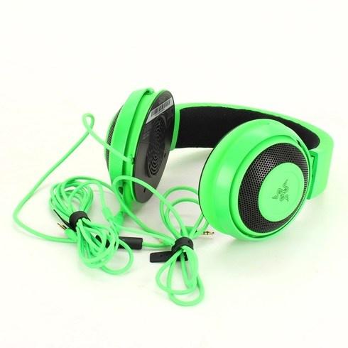 Herní sluchátka Razer Kraken Green