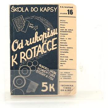 Kniha Od rukopisu k rotačce