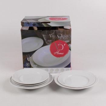 Sada talířů Villa d'Este Home Raya 6 ks