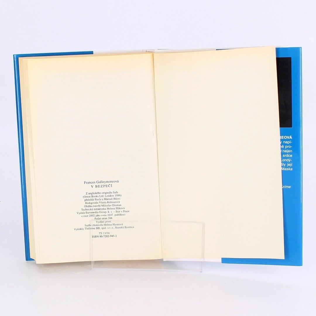 Kniha V bezpečí Frances Galleymore