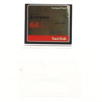 Paměťová karta Sandisk Extreme 64GB