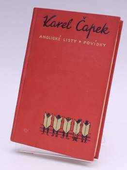Kniha Karel Čapek: Anglické listy