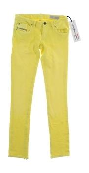 Dívčí džíny Diesel stretch žluté