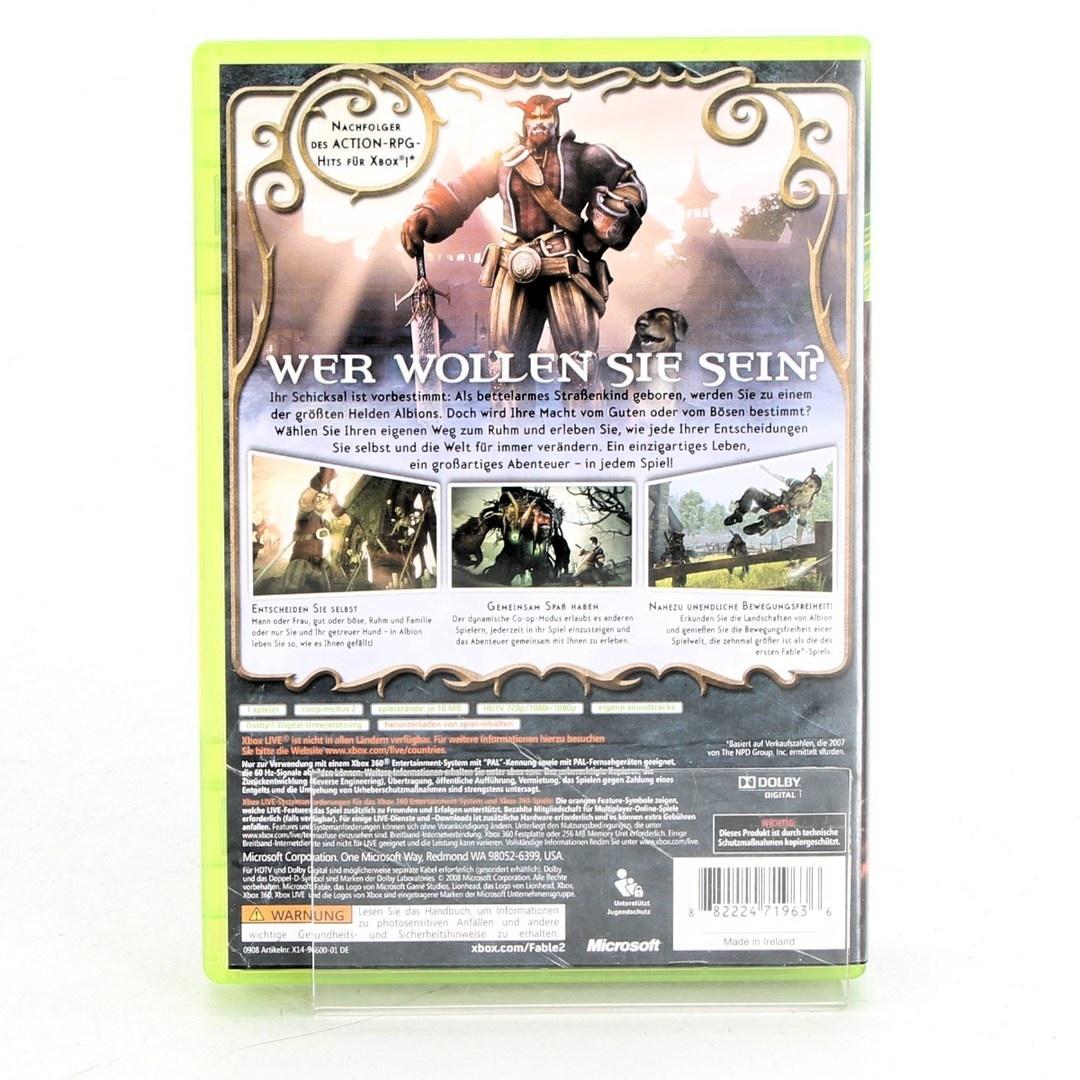 Hra na Xbox 360 - Fable 2