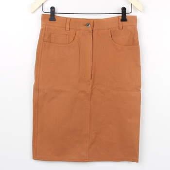 8019222f544 Dámská sukně v odstínu hnědé