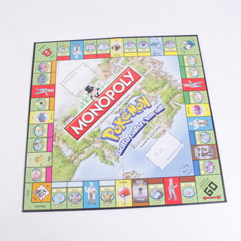 Desková hra Monopoly Pokémon