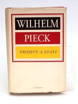 Kniha Wilhelm Pieck: Projevy a stati