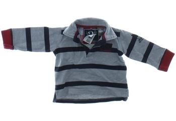 Dětské polo tričko Zara šedé