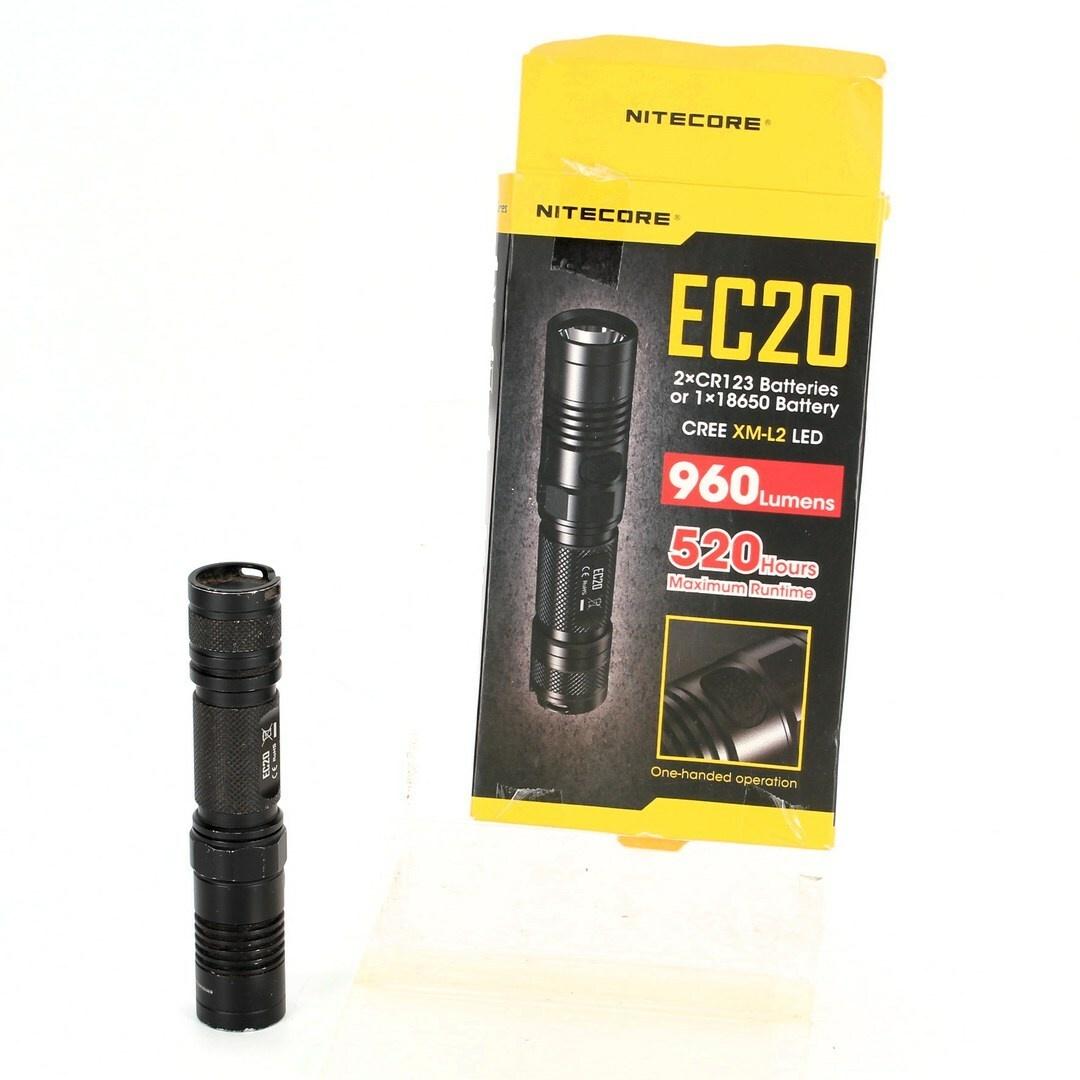Svítilna Nitecore EC20. 960 lumen