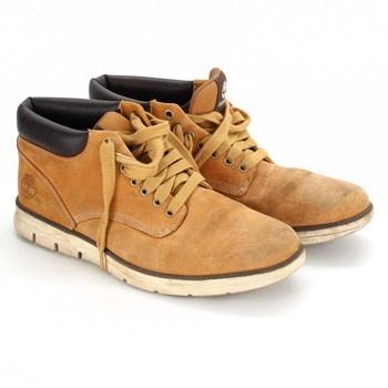 Pánské kotníkové boty Timberland béžové
