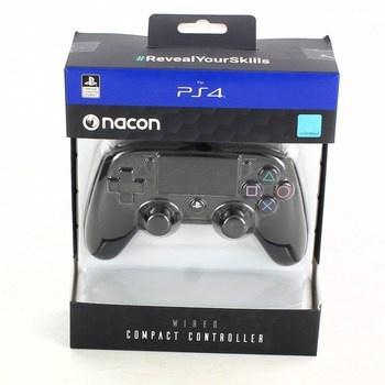 Herní ovladač Nacon pro PS4 compact černý