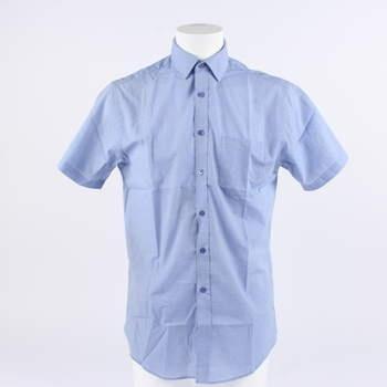 c591bf43eaf Pánská košile F F odstín modré