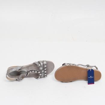 Dámské sandále Tom Tailor zdobené