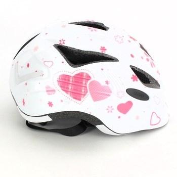 Dívčí cyklistická helma Abus