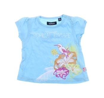 Dívčí tričko Blue Seven modré