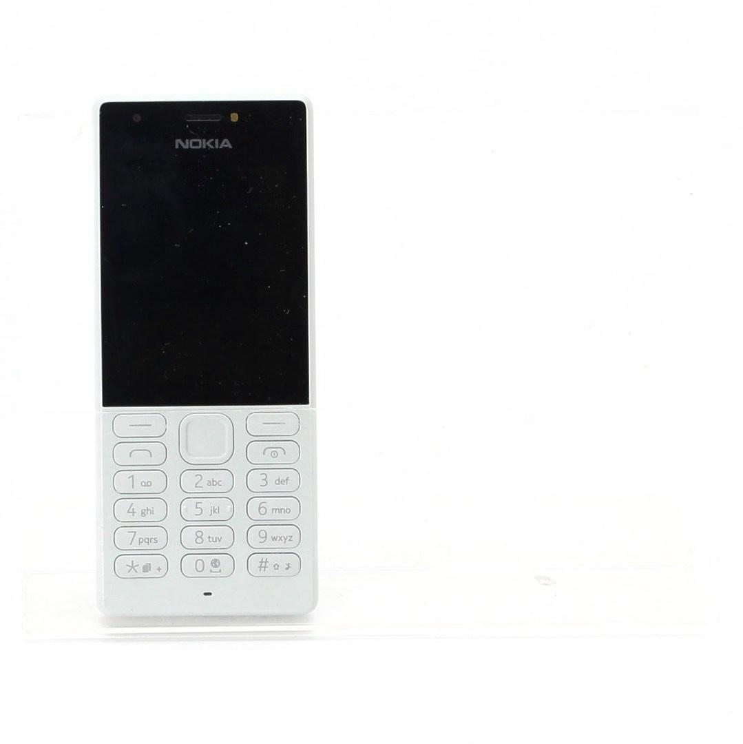 Mobilní telefon Nokia Handy 216 Dual bílý