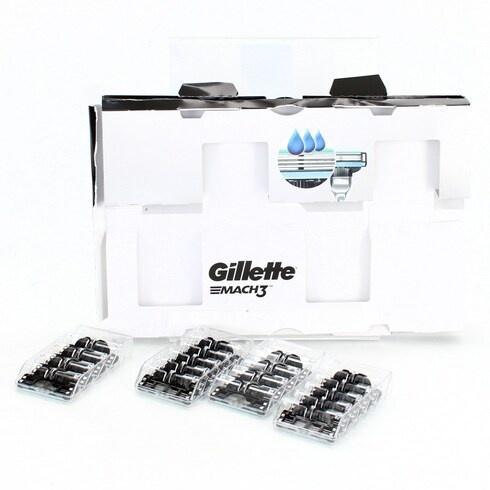Náhradní holící hlavy Gillette Mach3, 18 ks