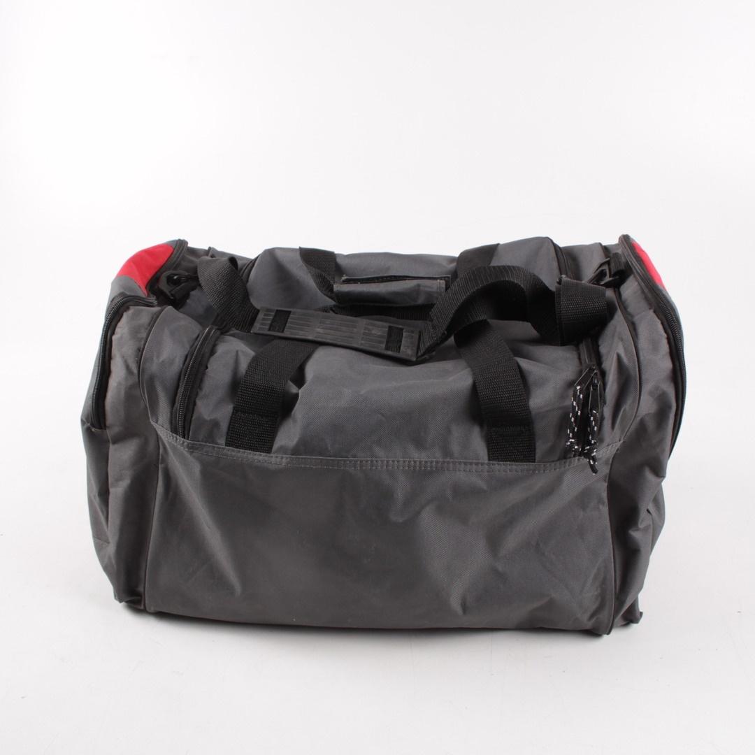 Látková taška O'key Originals černo-červená