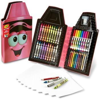 Penál Crayola plný pastelek