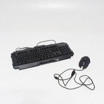 Set klávesnice a myši Mars Gaming MCP118