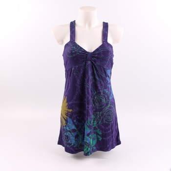 5cf28fed84fa Dámské šaty Smash odstín fialové s potiskem