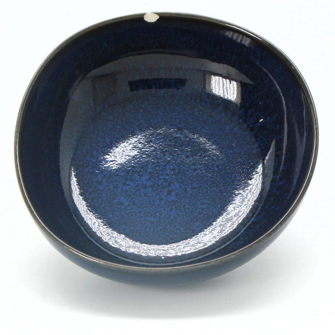 Keramická mísa tmavě modrá