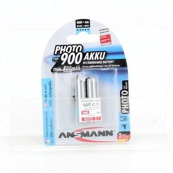 Sada baterií Ansmann Micro AAA Photo 2ks