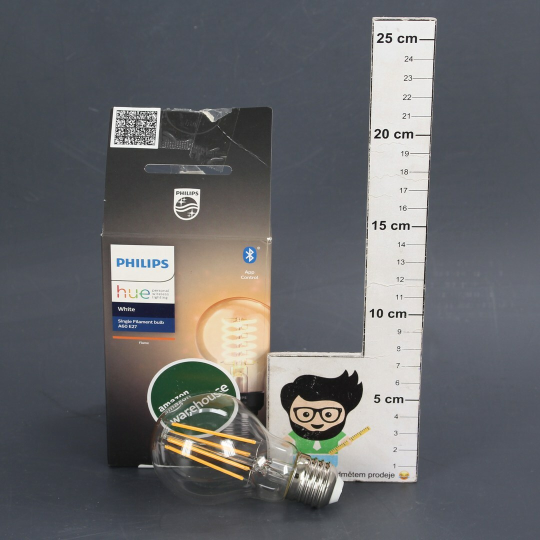 Žárovka Philips Single Filament Bulb A60 E27