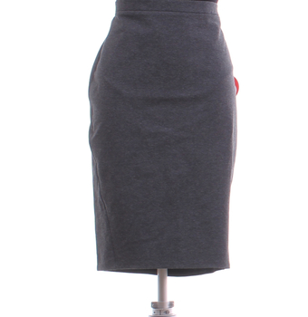 Dámská sukně pod kolena Promod šedá