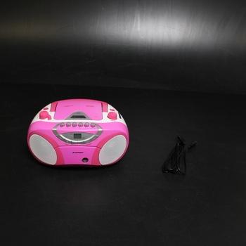 MP3/CD přehrávač boombox BB15PK