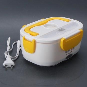 Ohřívací jídlonosič Beper bílo/žlutý