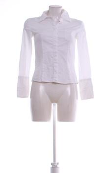 Dámská košile Tom Tailor bílá dlouhý rukáv