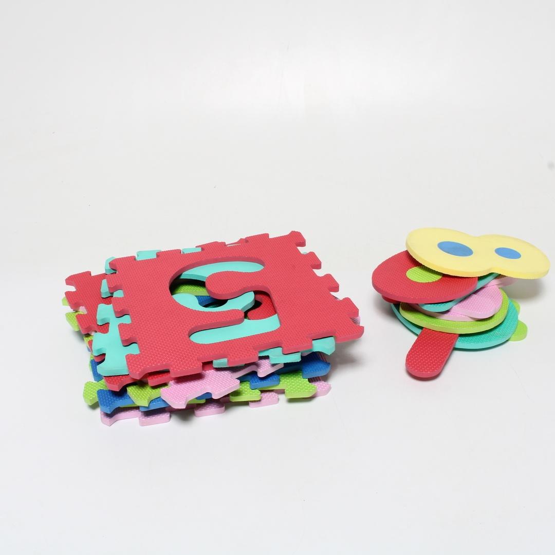 Pěnové puzzle pro nejmenší s čísly