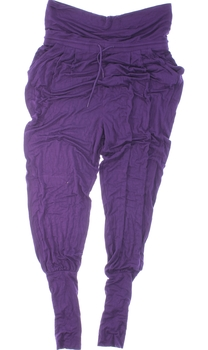 Dámské elastické kalhoty Crivit fialové