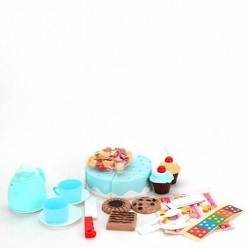 Dětská čajová sada s dortem CalMyotis