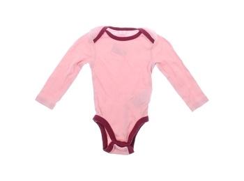 Kojenecké bodýčko Dopodopo Newborn růžové