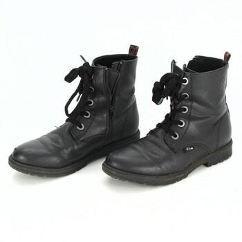 Dámské kotníčkové boty s.Oliver šněrovací