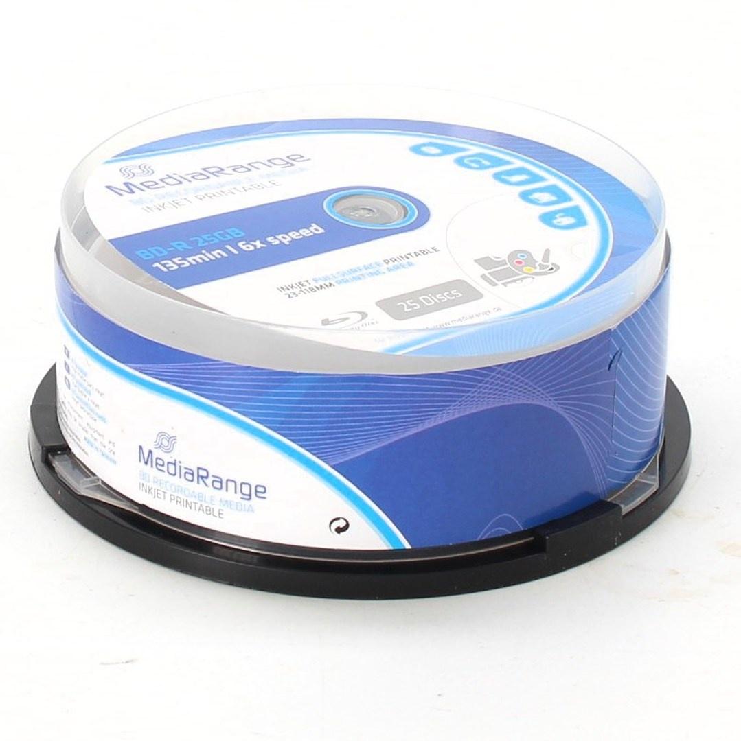 Blu-ray disky MediaRange MR515